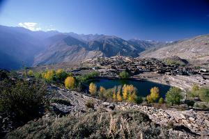 Nako Lake and Nako Village Himachal Pradesh